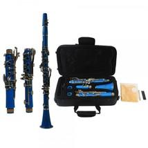 Brand New 17 Key B♭ Clarinet Azure with Bag Cloth Screwdriver  - $159.99
