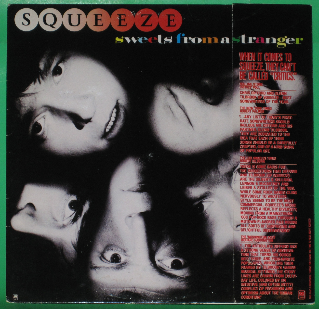 Squeeze - Sweets From a Stranger Vinyl