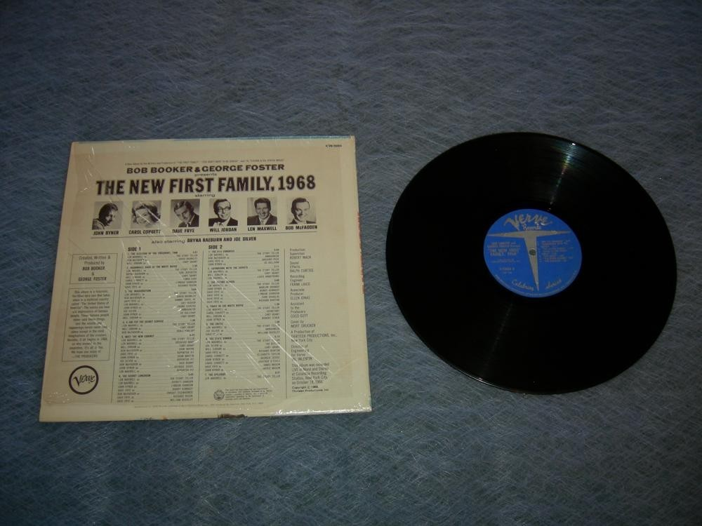 The New First Family 1968 Bob Booker and George Foster A Futuristic Fairy Tale