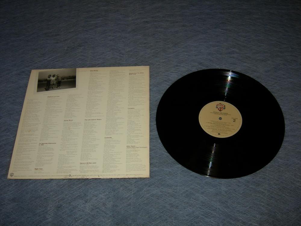Rickie Lee Jones Self Titled LP