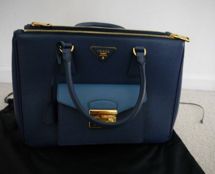 a0fb92c227d3 NWT 100% AUTH PRADA Saffiano Lux Bicolor and 50 similar items. 57