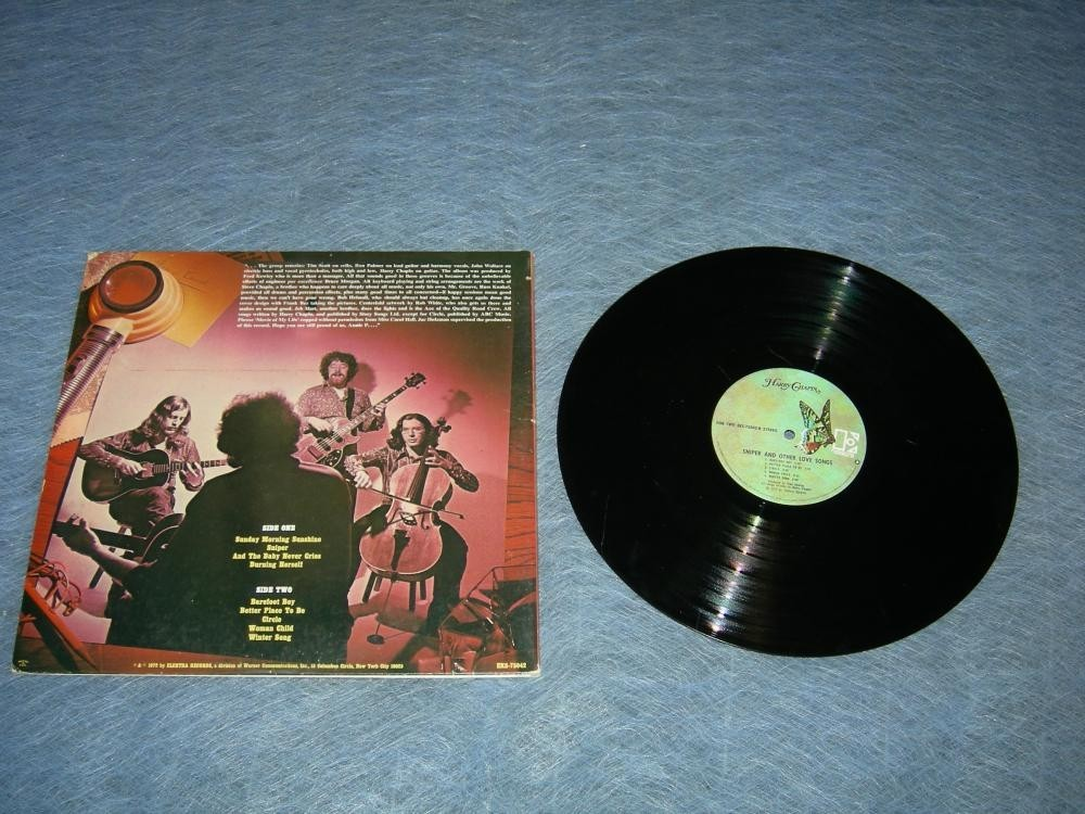 Harry Chapin Sniper and Other Love Songs LP