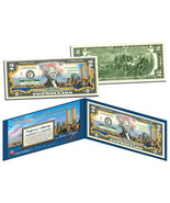 "WORLD TRADE CENTER 9/11 MEMORIAL ""NEVER FORGET"" COLORIZED $2 BILL! LIMIT... - $24.49"