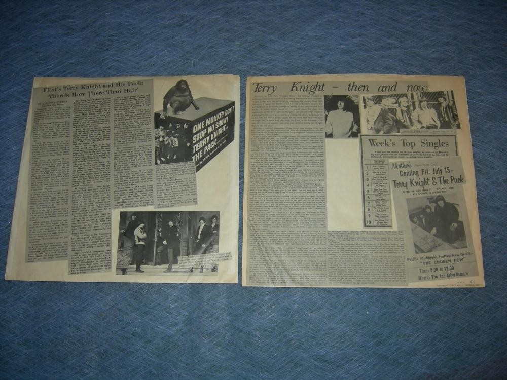Terry Knight and The Pack - Mark Don and Terry 2 LP - 1972
