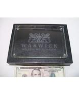 Warwick Melrose Hotel Dallas TX Collectible Glass Gift Shop Souvenir Pap... - $18.95