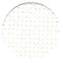 White 11ct Aida 36x25 (1/2 yd) cross stitch fabric Wichelt - $14.85