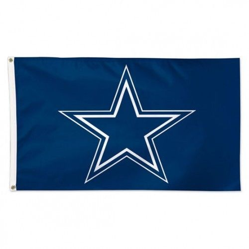 DALLAS COWBOYS 3' X 5' DELUXE ALL PRO FLAG POLE WALL BANNER NFL FOOTBALL