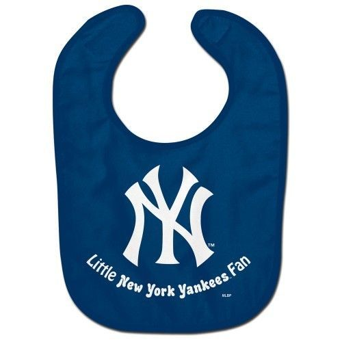 NEW YORK YANKEES ALL PRO BABY BIB VELCRO CLOSURE TEAM LOGO MLB BASEBALL