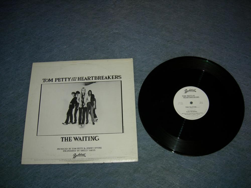Tom Petty The Waiting white label promo EP - 1981