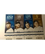 2014 Yankee Tickets Jeters Last Home Game Against the Redsox 9.4.2014 NE... - $59.00