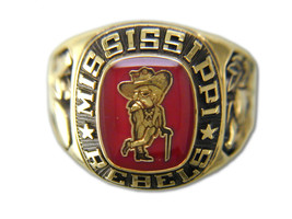 University of Mississippi Ring by Balfour - $2.286,89 MXN