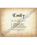 Emily Hidden Within Your Name Is A Special Stor... - $8.95