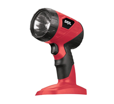 NEW Skil 18V LED Pivoting-Head Flashlight 2897 - $14.99