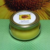 Sunflower 6 oz. Tureen Jar Wickless Candle - $6.00