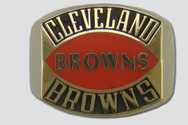 Cleveland Browns Contemporary Style Ring by Balfour - $2.240,20 MXN