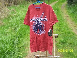 NHL Washington Capitals S CH P Fruit of the Loom shirt - $5.00