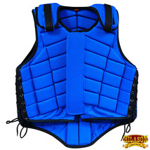 Hilason Adult Safety Equestrian Eventing Protective Protection Vest Blue U-V134 - $62.32+