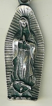 Key Ring - Our Lady of Guadalupe - 2 1/4 inches - L105.0007 image 2