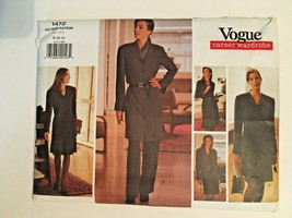 Vogue Sewing Pattern  # 1472 SZ  8-10-12 Dress ,Jacket, Pants, Skirt. Uncut - $15.00
