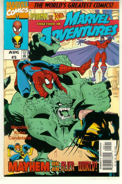 Marvel adventures  05