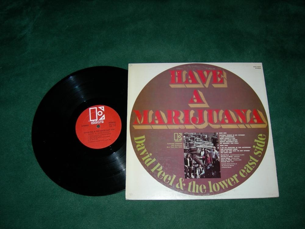 Have A Marijuana - David Peel - 1968