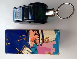 Avon Blue Glass Big Whistle Spicy Aftershave Full Bottle Original Box  - $10.00