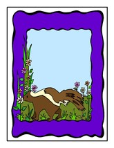 Animal Frame0212812-Digital Download-ClipArt-ArtClip-Digital  - $4.00