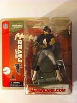 Sports Action Figure Brett Favre  Atlanta Falcons Packers 2003 Football NFL 6 - $48.37