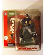 Sports Action Figure Brett Favre  Atlanta Falcons Packers 2003 Football ... - $48.37