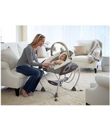 Baby Infant Swing Graco Glider ~ Plush Gliding Motion Soothes Relaxed Roomy Seat - $125.72