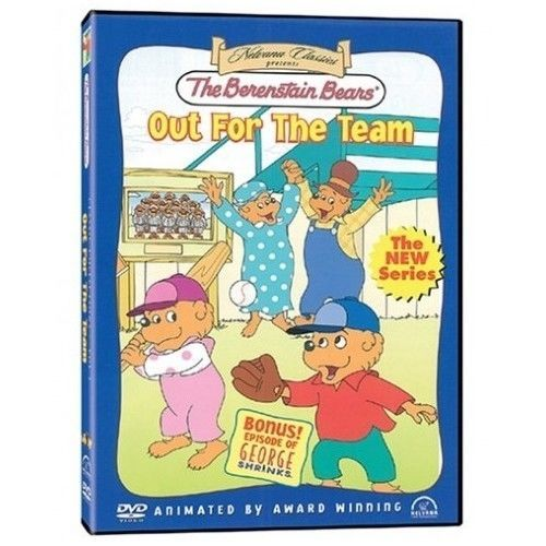 Primary image for DVD Movie Out For The Team ~ The Berenstain Bears ~ Bonus Episode George Shrinks