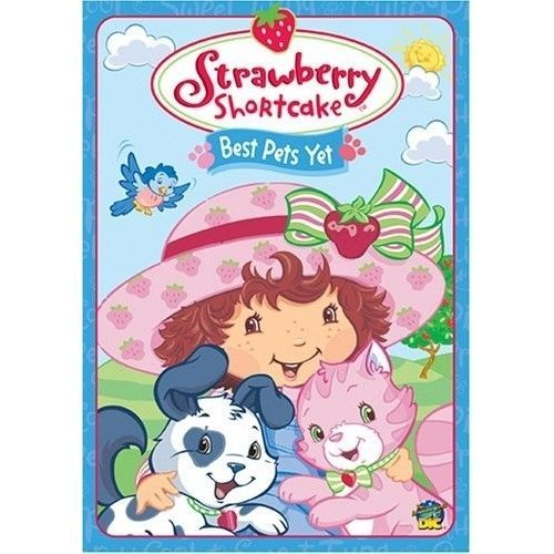 Primary image for DVD Movie Animated Strawberry Shortcake - Best Pets Yet (DVD, 2004)
