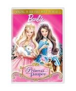 DVD Movie Princess & The Pauper Barbie Widescreen ~ Sing Along CD Digita... - $9.74