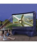 Backyard Widescreen Theater ~ Portable Outdoor Inflatable Movie TV Scree... - $237.40