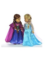 "American Girls Clothes Princess Sisters Dress Up ~ Fits 18"" Doll  ~ Elsa... - $55.10"