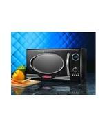 Modern Microwave Oven Electric 800 Watt Retro Black Kitchen Micro ~Free ... - $130.52