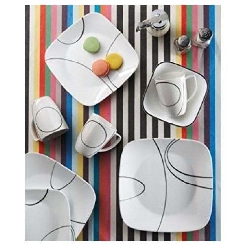 57. 57. Stackable Dinnerware ...  sc 1 st  Bonanza & Stackable Dinnerware Setting Dinner Salad and 8 similar items