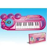 Girls Piano Keyboard DJ Mixer - Kids Multi-Function Table Top Music Play... - $77.35