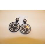BDSM 1inch Diameter Earrings - Choose black or silver - $15.99