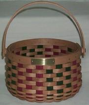 Longaberger 2003 Christmas Collection Caroling Basket USA New - $41.16