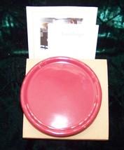 Longaberger Set of 1 Only Paprika Pottery Coasters - $4.90