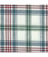 Longaberger 1997 Horizon of Hope Basket Liner -  Market Day Plaid Fabric - $13.66