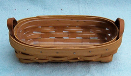 Longaberger Lavendar Booking Basket w/ protector 1996 - $17.59