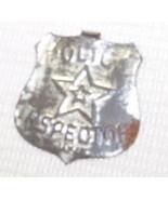 Vintage Tin POLICE INSPECTOR Badge - $9.75