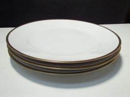 "3 VINTAGE NORITAKE ""GOLDENA"" DINNER PLATES - $9.99"