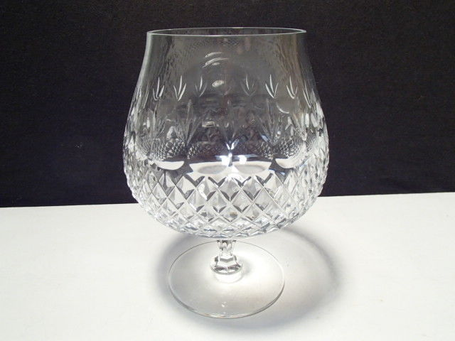 Primary image for BEAUTIFUL LARGE CUT CRYSTAL BRANDY SNIFTER~~~unknown maker