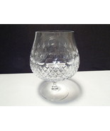 BEAUTIFUL LARGE CUT CRYSTAL BRANDY SNIFTER~~~unknown maker - $9.99