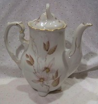 Beautiful Crown Heiden Tall Tea / Chocolate Pot - Mint - $39.15