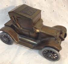 Citizens Bank 100th Anniversary Metal Antique Car Bank by Banthrico Inc. - $14.65