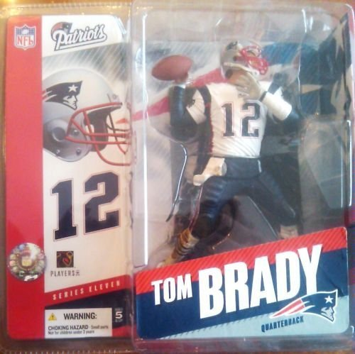 Primary image for Tom Brady #12 New England Patriots White Jersey Chase Variant Alternate McFar...